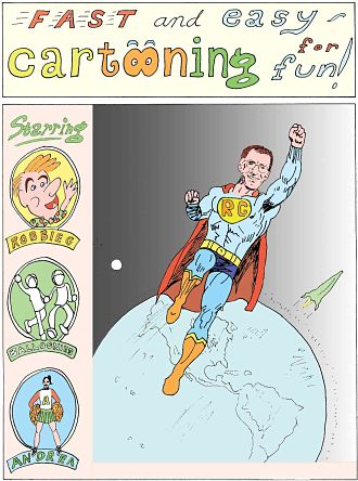 Cover of Fast and Easy Cartooning for Fun!